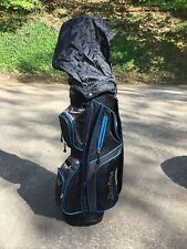 Tour Edge Cart Carry Golf Bag With 7 Way Divider Includes Cover