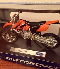 Welly - KTM 525 EXC - Motorbike Model Scale 1:18