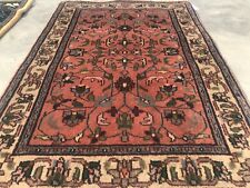 Authentic Hand Knotted Vintage Indo Wool Area Rug 3 x 2 Ft (8424 Bn)