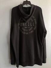 O'Neill Black Hoodie X-Large Original American Surf Brand