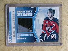 10-11 ITG Heroes & Prospects H&P Draft Day Stars SEAN COUTURIER Jersey Silv /19