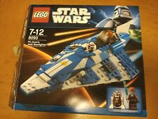 LEGO Star Wars Plo Koon's Jedi Starfighter (8093) Complete Set And Boxed