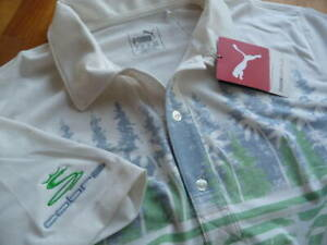 PUMA / US Cobra Golf 2019 / PINES Polo Shirt / Custom Print / Men's XL Size