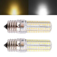 E17 LED 3014 SMD 9W 104 LED Silica Gel Pure/Warm White Light Bulb Lamp 110V/220V