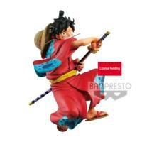 Banpresto One Piece King Of Artist PVC Statue Monkey D. Luffy Wanokuni