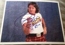 WWF WWE ROWDY RODDY PIPER AUTOGRAPHED 8x10 PHOTO AUTHENTIC AUTOGRAPH