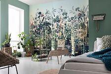 Wall Mural Photo Wallpaper URBAN CITY JUNGLE Abstract Textures Decor 368x254cm
