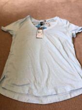 BNWT Adidas Logo-V T-Shirt in Ice Blue - Size M - £19.95