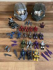 Halo - Mega Bloks- Large Bundle - 17 Figures - 2 Sets - Collectable