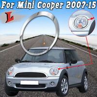 FOR MINI COOPER R55 R56 R57 R58 N/S LEFT CHROME HEADLIGHT TRIM RING 51137149905
