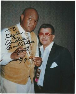 George Foreman Signed Photo / Boxing Autographed