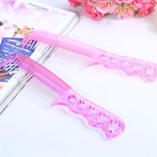 New Handle Women Anti-static Beauty Steel Tooth Comb Styling Wig Tool