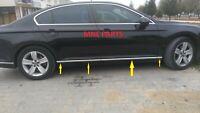 Für VW Passat B8 2014 Limo Variant Seitenleiste Türleisten 8tlg Edelstahl Chrom