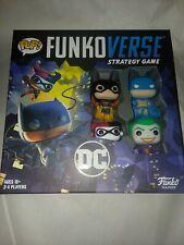 Funkoverse Strategy Game DC 100 Pop! Base Set Batman Joker Batgirl Harley Quinn