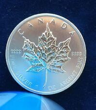 CANADA: 2011 $5 Maple Leaf, 1 troy ounce of pure silver