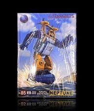 Transformers Masterpiece X-Transbots MM-XII Neptune / MP Seaspray Brand new