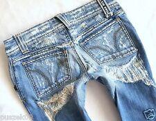 ღღ Luxury Miss Sixty Jeans Hüft Jeans Light Blue W25 25 XS 34 ღღ