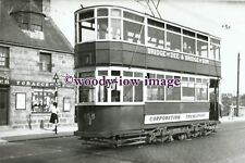 a0726 - Aberdeen Tram no 105 in King Street - photograph