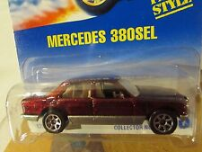 Hot Wheels Mercedes 380SEL #253 7sp