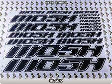 MOSH Stickers Decals Bicycles Bikes Cycles Frames Forks Mountain MTB BMX 62J