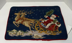 """Christmas Holiday Decorative Pillow Case Cover, 12"""" x 16"""""""