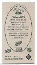 11/12 PARKHURST CHAMPIONS CHAMP'S MINIS GREEN BACK PARALLEL Marcel Dionne #20
