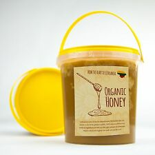 Fresh Organic And Natural Lithuanian Multi Cultural Honey 1KG 2017 Summer