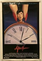 """AFTER HOURS Original One Sheet (27"""" X 41"""") SS/Rolled Movie Poster 1985 SCORSESE"""