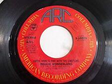 Earth Wind & The Fire Boogie Wonderland / Instrumental 45 1979 ARC Vinyl Record