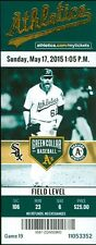 2015 Oakland A's vs White Sox Ticket: Avisail Garcia HR/Max Muncy 1st MLB HR