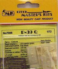 CMK 1/72 P-39Q Interieur Set für Academy # 7006