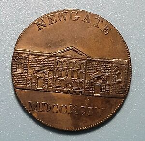 WPCoins ~ 1795 Half Penny New Gate