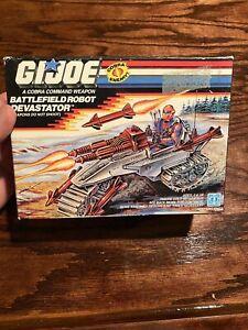 1989 Hasbro GI Joe Battlefield Robot Devastator MISB Factory Sealed Box