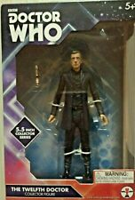 Doctor Who The Twelfth Doctor Collector Series 5.5 Inches Tall in Black Shirt
