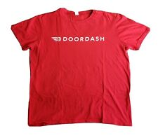 Red Door Dash Dasher T Shirt Size Large Anvil Apparel Uniform Clean