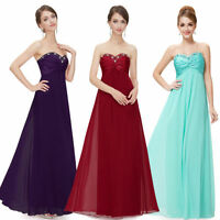 Elegant Long Bridesmaid Dress Evening Formal Party Prom Gowns 09568 US Seller