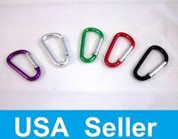 "500 200 100 Carabiner 1.75"" / 4.5 cm Multi Color Aluminum Clip Wholesale"