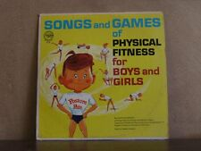 SONGS & GAMES OF PHYSICAL FITNESS, MCCORMACK - LP 114