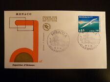 MONACO PREMIER JOUR FDC YVERT  1013     MOUETTE     0,85F   MONACO  1975