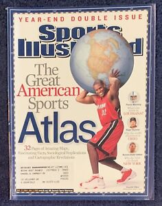 12.27.04-1.3.05 SHAQUILLE O'NEAL Sports Illustrated HEAT Manning Clemens Jabbar