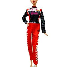 Barbie Fashionistas 2019 Red Racing Outfit Regular Tall Curvy