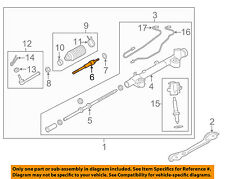 Infiniti NISSAN OEM 14-15 Q70 Steering Gear-Inner Tie Rod End D85211MA0A