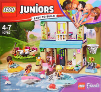 LEGO 4Juniors Friends 10763 Stephanies Haus am See Andrea Olivia Lagerfeuer NEU