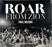 Paul Wilbur Roar From Zion NEW CD Christian Messianic Contemporary Worship Music