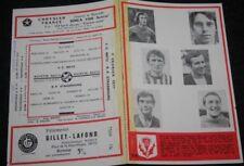 programme )) NANCY V STRASBOURG )) saison 1970/1971