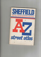 VINTAGE GEOGRAPHER'S A-Z STREET MAP BOOK - SHEFFIELD - POSSIBLY 1980's