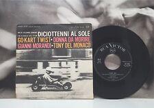 """GIANNI MORANDI / ENNIO MORRICONE  DICIOTTENNI AL SOLE OST - GO-KART TWIST 7"""" VG+"""