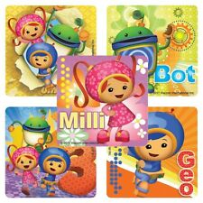 20 Team Umizoomi STICKERS Party Favors Supplies Teacher Treat Bags Birthday