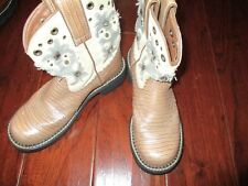 Cowboy Boots womens Fat Baby Ariat brown 6B