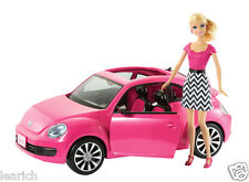 Barbie volkswagen beetle et poupée exclusive